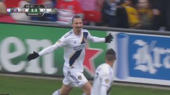 """""""Din alta galaxie!"""" LEUL Zlatan Ibrahimovic i-a cucerit definitiv pe americani! Cum a marcat din nou! VIDEO"""