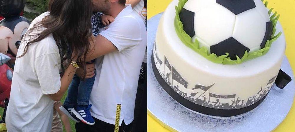 Zi fericita pentru Mutu! A semnat cu Voluntari si a petrecut de ziua fiului sau cu un tort in forma de tricou al nationalei. FOTO