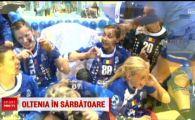 Momente incredibile dupa calificarea Craiovei in finala Cupei EHF! Cum au petrecut jucatoarele
