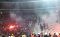 Mai rau ca pe National Arena: sarbii au fost la un pas sa dea FOC la stadion la Steaua Rosie - Partizan! VIDEO
