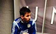 Cum a ajuns Messi IDOL in vestiarul lui Manchester United. Ce poza a fost agatata in vestiar. FOTO