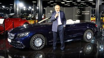 Nu e Ferrari si nici decapotabila! N-o sa ghicesti niciodata care e cel mai nou BOLID in garajul lui Ion Tiriac. VIDEO