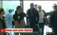 """""""Putem castiga trofeul!"""" Simona Halep este gata de meciul de FedCup cu Elvetia! Cu cine s-a intalnit in avion"""