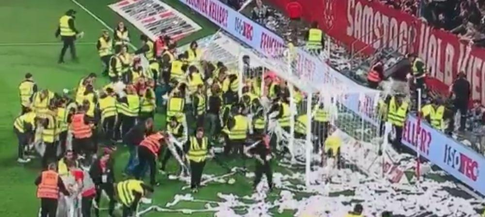 HAOS TOTAL in Bundesliga! Faza ANTOLOGICA: primul penalty din ISTORIE executat in timpul pauzei! Cum a fost posibil asa ceva