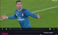 Bruce Lee il bate pe Van Damme! :) Miracol pe site-ul UEFA: foarfeca nebuna a lui Ronaldo, detronata! Unde au mers voturile pentru golul sferturilor in Champions League
