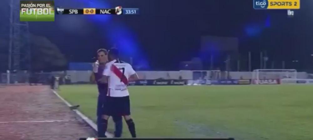 "Scena incredibila: un jucator a sarit sa-si bata antrenorul dupa ce a fost schimbat: ""Fiu de c***a!"" VIDEO"