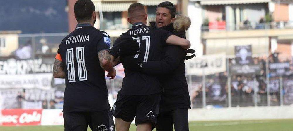 A ratat titlul, dar poate castiga Cupa! Razvan Lucescu, in FINALA cu PAOK dupa 6-2 la general cu Panionios!