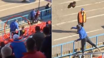 Dupa cazul Bricheta, a venit cazul Cocosul! Un rus a intrat cu un cocos viu pe stadion si l-a aruncat in teren. Ce pedeapsa risca