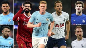 A fost anuntata echipa sezonului din Premier League! Cinci campioni de la City, un singur jucator de la Liverpool. Cum arata primul 11