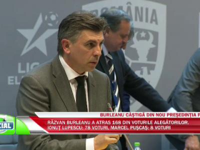 """""""Era de datoria mea sa candidez!"""" Mesajul lui Ionut Lupescu catre Razvan Burleanu dupa ce a pierdut alegerile"""