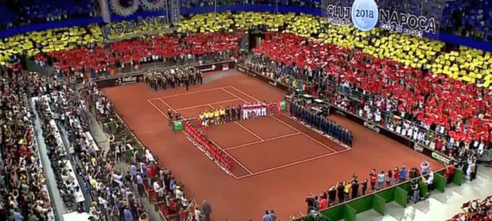FED CUP Romania 2-0 Elvetia   VICTORIEEE! Begu castiga in doua seturi cu Bacszinsky, Halep a invins-o pe Golubic dupa un meci teribil