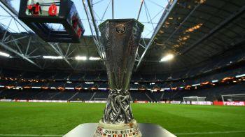 Incredibil! Trofeul Europa League a fost FURAT! In ce tara a avut loc incidentul
