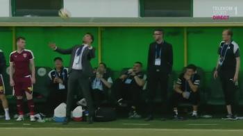 Mutu a castigat la debut si a facut si faza meciului: stop pe cravata :) Concordia 0-1 Voluntari