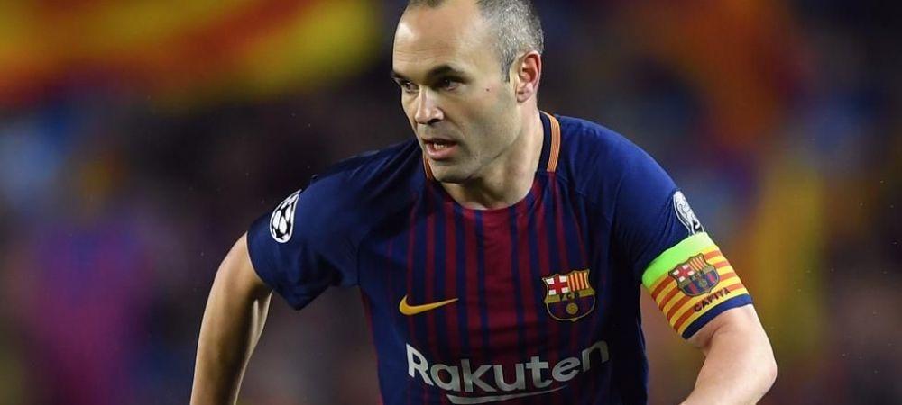 """Andres, te rog, nu te duce in China, vino la noi!"" Oferta de ULTIM MOMENT primita de legenda Barcelonei"