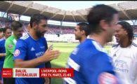 Chivu l-a infruntat pe Ronaldinho intr-un super meci! Figo, Raul, Pirlo si Kluivert au fost in teren VIDEO