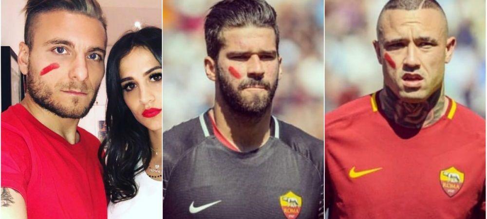 Motivul pentru care toate vedetele din Serie A au jucat in acest weekend cu o pata rosie pe obraz