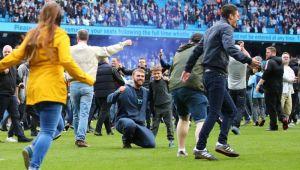 City a celebrat titlul cu o nebunie: 5-0, 82% posesie si terenul invadat de suporteri // GALERIE FOTO