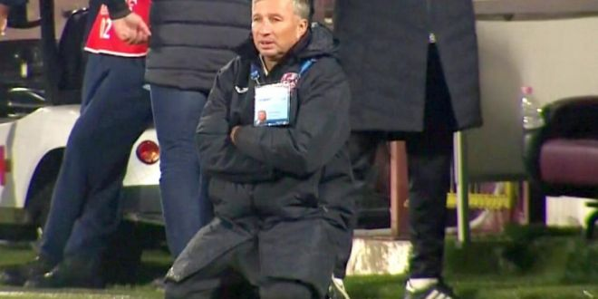 GATA, MA RETRAG! Nu sunt respectat! In Romania, lucrurile sunt facute . Petrescu, IN FLACARI la Iasi, dupa 1-1 cu un penalty discutabil