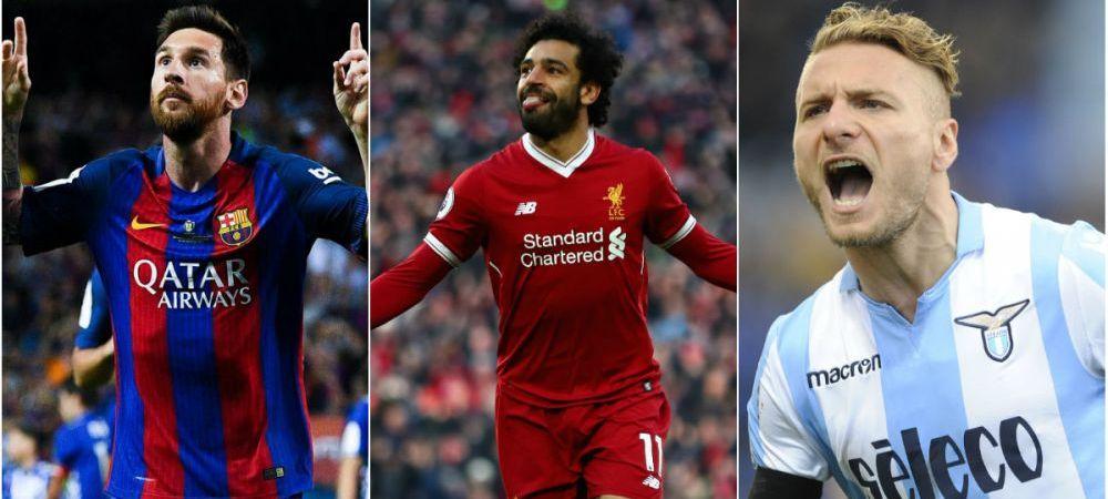 Il mai detroneaza cineva? Salah s-a distantat din nou de Messi si Immobile in topul pentru Gheata de Aur, dar are un dezavantaj. Cum arata clasamentul
