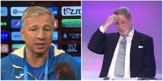 Reactie total amuzanta a lui Cornel Dinu dupa ce l-a auzit pe Dan Petrescu criticand din nou arbitrajul. Cu cine l-a comparat