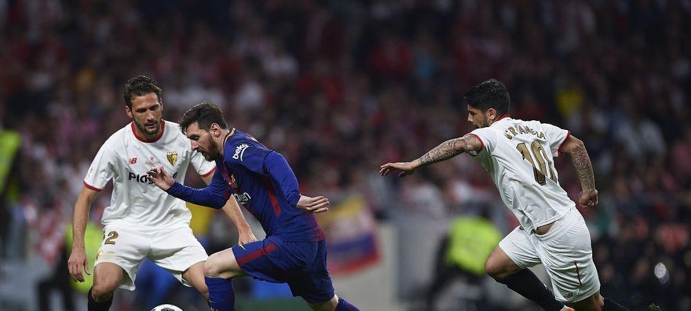 """Gest incredibil al lui fan dupa ce Barca a UMILIT-O pe Sevilla in finala Cupei Spaniei! A facut reclamatie oficiala: """"V-ati batut joc de noi!"""""""