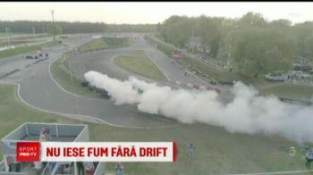 Nu iese fum fara drift! E masterand la ASE si a castigat campionatul national de drifturi