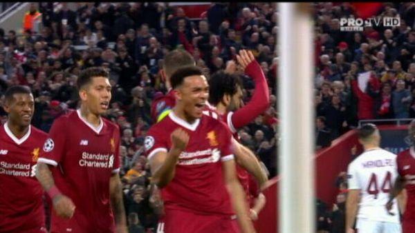 Toate golurile duc la Roma: Liverpool 5-2 AS Roma! Italienii simt aRoma unui nou miracol // VIDEO: TOATE GOLURILE AICI