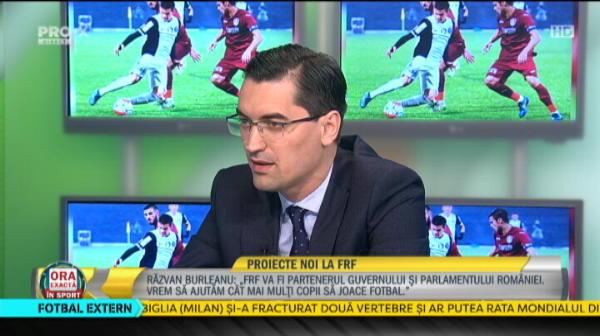 """""""Sa nu se mai planga!"""" Mesajul lui Burleanu pentru Hagi si Petrescu, dupa ce au anuntat ca vor sa plece din tara"""