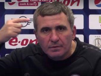Hagi a RABUFNIT in urma declaratiilor lui Becali:  Aici antrenorul face echipa, nu suntem la Steaua!