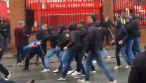 Doi ultrasi retinuti dupa incidentele de la Liverpool! UEFA anunta sanctiuni dure pentru vinovati