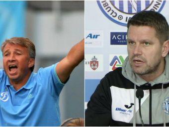 Stoican, mesaj direct pentru Petrescu, dupa ce antrenorul CFR-ului a acuzat Iasiul ca  s-a bucurat prea tare pentru egal