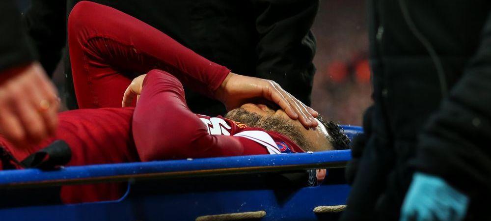 Veste groaznica pentru un jucator de la Liverpool: rateaza finala UCL si Mondialul din Rusia, dupa accidentarea de marti