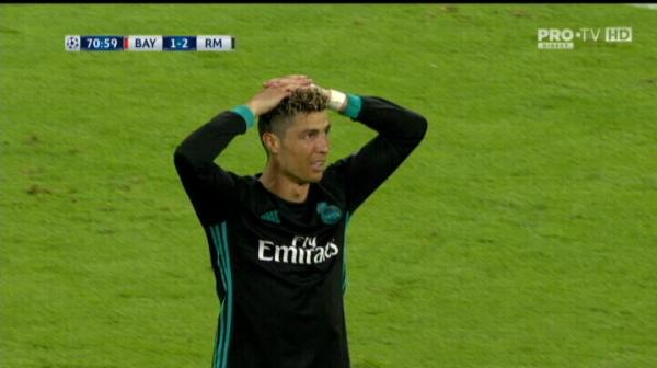 Ronaldo, gol anulat