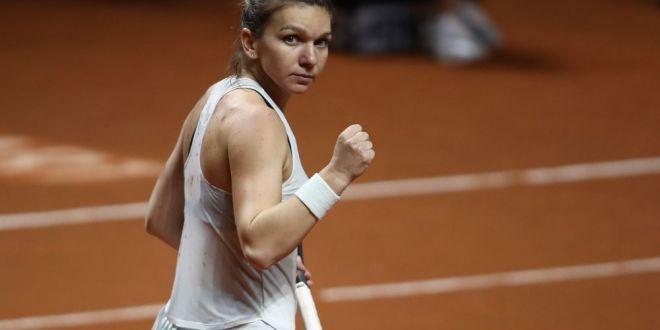 Reactia Simonei Halep dupa victoria dificila cu Rybarikova! Ce a spus despre accidentarea din primul set:  Nu am vrut sa ma opresc!