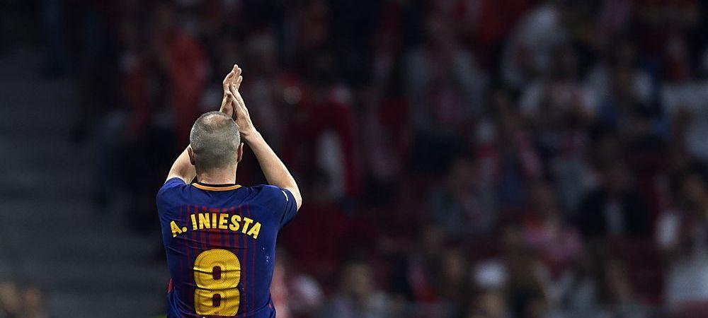 Iniesta isi anunta vineri viitorul in fotbal! Ce pregatesc cei de la Barcelona