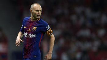 """""""A fost cel mai important jucator al nostru!"""" Iniesta isi anunta viitorul intr-o conferinta de presa la ora 14.30! Ce spun catalanii"""