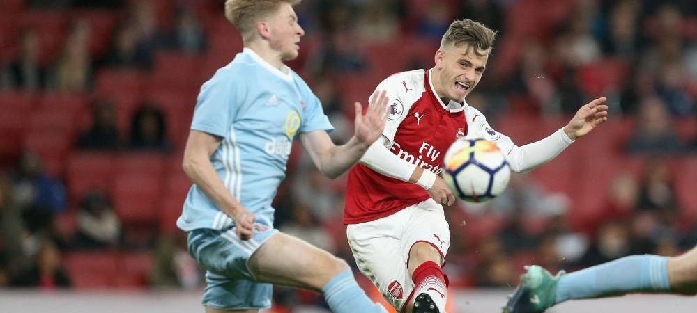 """EXCLUSIV! Interviu cu Vlad Dragomir, jucatorul lui Arsenal: """"Sunt pe lista pentru echipa mare sezonul viitor"""""""
