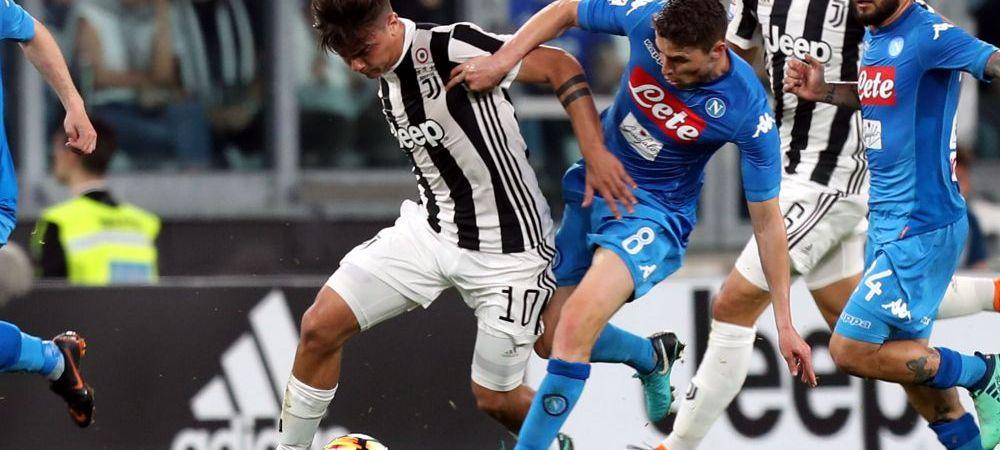 Razboi pentru TITLU! Napoli viseaza la marele trofeu dupa 28 de ani, Juve vrea al 7-lea titlu consecutiv! Diseara 21.45 Inter - Juventus, Dumnica 19.00 Fiorentina - Napoli