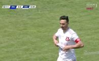 Moment FABULOS in Romania! Un jucator de la Hermannstadt a inscris in victoria cu 6-0 din deplasare si si-a dat tricoul jos! Ce scria pe dedesubt