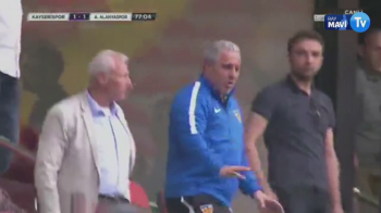 Inca un SOC pentru Sumudica la Kayserispor! Echipa lui a primit gol in secunda 17 a reprizei, Silviu Lung a fost invins cu un GOLAZO! Boldrin a egalat! VIDEO