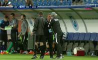 Nervii lui Hagi au CEDAT la Craiova! A sarit un om din staff si a fost oprit de arbitru! FOTO