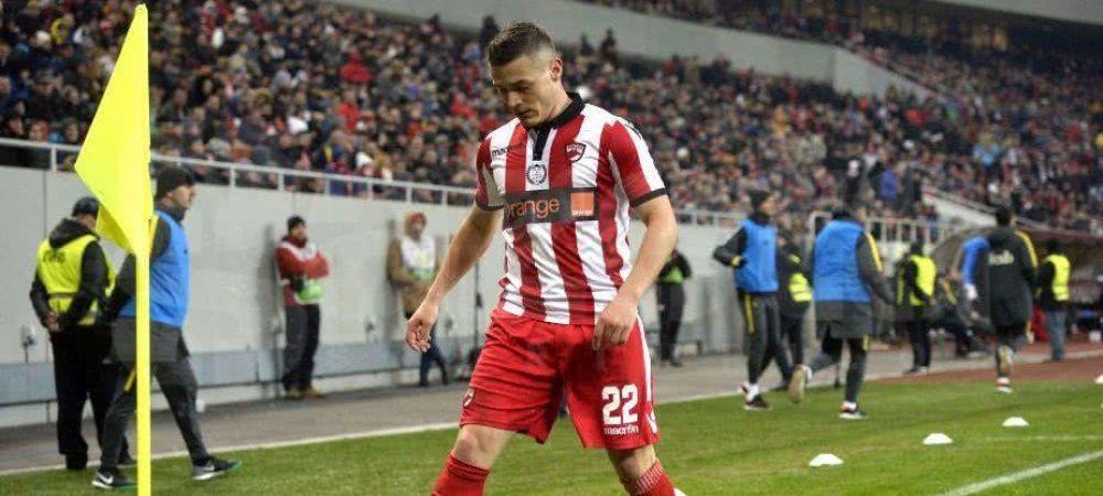 Torje, OUT din lotul lui Dinamo! Decizia lui Bratu dupa ce jucatorul i-a reprosat ca nu-l joaca