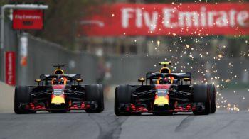 Final incredibil in MP al Azerbaijanului! Verstappen si Ricciardo, colegi la Red Bull, au facut accident si au abandonat! Hamilton a castigat cursa