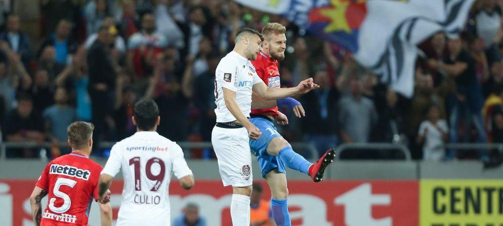 FCSB 1-1 CFR, lupta la titlu merge mai departe! Djokovic a marcat superb, Planic a egalat in prelungiri! TOATE FAZELE