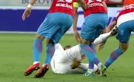 Prima faza controversata de la derby! Vinicius a avut o reactie nervoasa si l-a lovit pe Pintilii! Merita rosu?