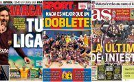 "INVICTUS! Barcelona, titlul 25 in Spania! Messi, golul 1000 in cariera: ""E liga ta, Leo!"""