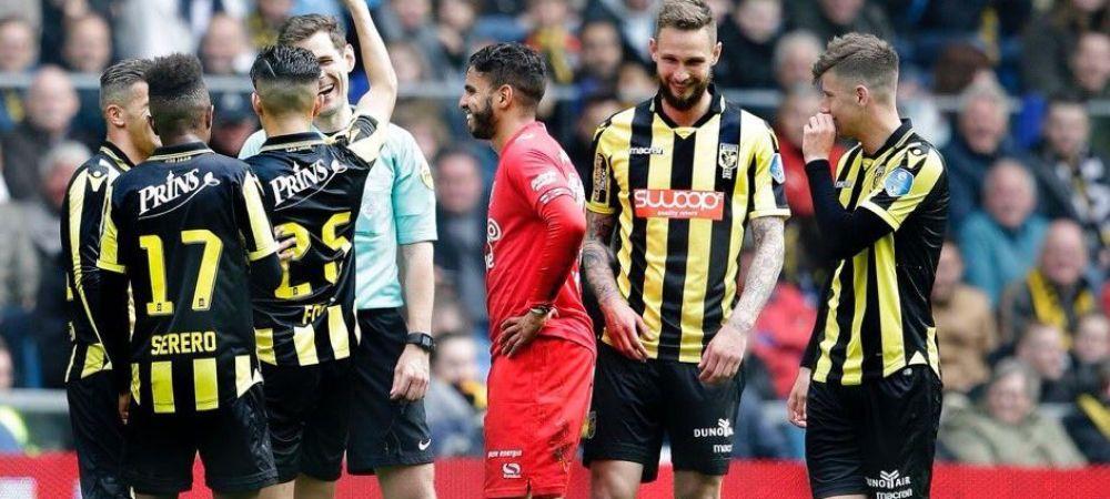 Faza MILENIULUI la care tot stadionul a inceput sa rada! Un jucator i-a furat cartonasul galben arbitrului si l-a avertizat pentru SIMULARE! VIDEO