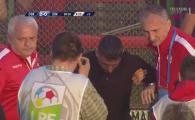 NEBUNIE la Sf. Gheorghe! Dinamovistii au furat un steag, Danciulescu a fost GAZAT! Imagini INCREDIBILE in Liga1