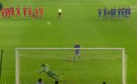 Cel mai prost batut penalty al anului?! Olaroiu a INGHETAT pe margine. Cum a putut sa bata jucatorul adus de la Milan