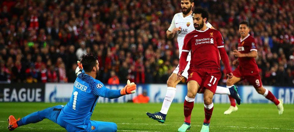 """""""Creeaza SPAIMA la fel ca Messi!"""" Portarul celor de la AS Roma a facut comparatia intre Salah si starul Barcei"""